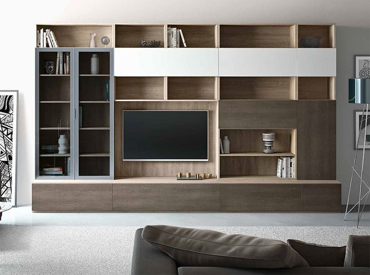 Modern italian wall unit 3d c by artigian mobili 6 799 for Italian design mobili