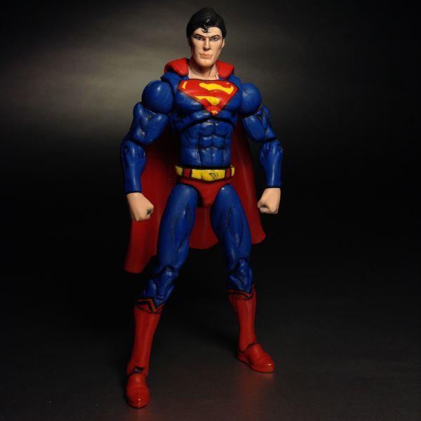 Superman Christopher Reeve (Upgrade) (DC Infinite Heroes) Custom Action Figure
