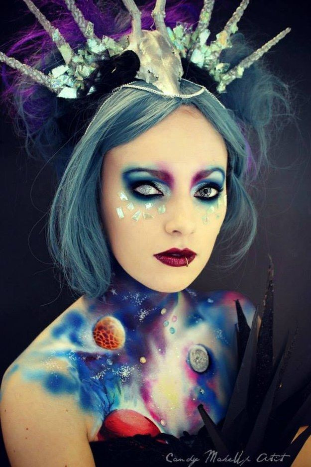 Spakman said she hoped to continue inspiring people with her work. | This Woman's Incredible Make-Up Transformations Are Spooky Yet Beautiful