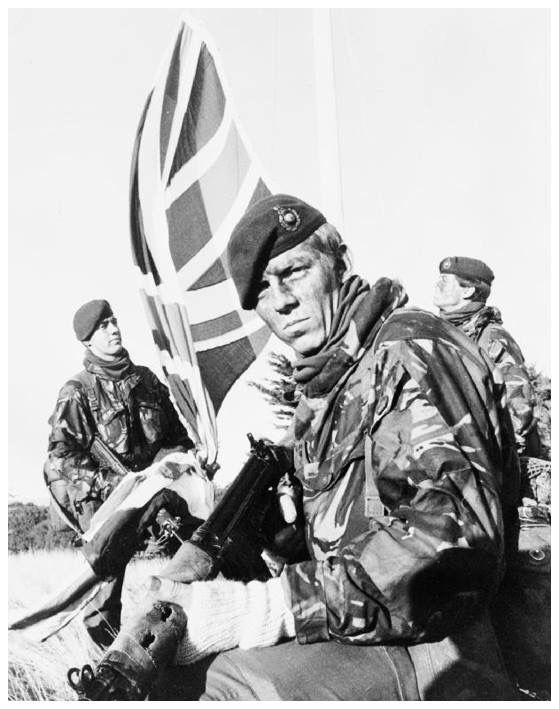 Royal Marine commandos, Falklands war, 1982