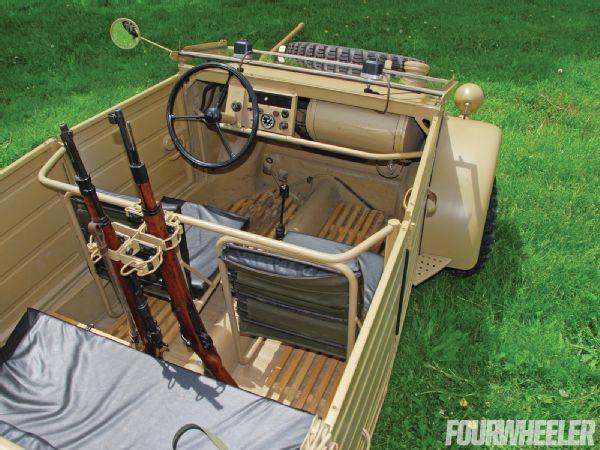 august   glances  pkw type  kubelwagen interior photo  planes trains