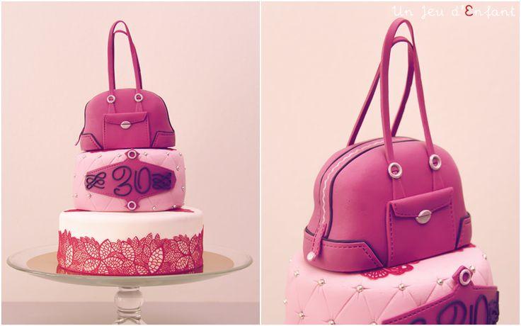 Gateau lancel lancel cake pink cake girly cake un jeu d 39 enfant nantes france our - Gateau pour bebe 1 an ...