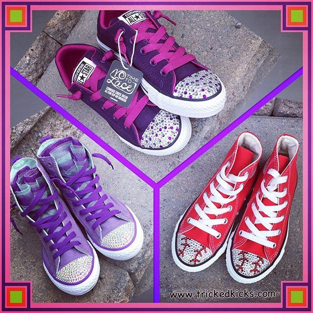 New SALE items now at Tricked Kicks ready to ship! #sale #freeshipping #blingconverse #shoesale #blackfriday #trickedkicks