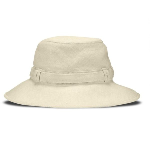 Women's Hemp Cloche Hat | Tilley (315 BRL) ❤ liked on Polyvore featuring accessories, hats, cloche hats, brimmed hat, hemp hats, tilley hats and tilley