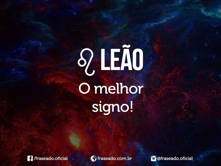 Leão, o melhor signo!