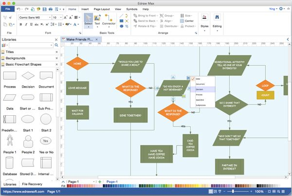 Is There A Flowchart Program That Can Be Used On Mac Similar To Visio  Try This Popular Visio