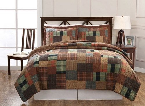 7 Best Images About Plaid Bedding On Pinterest Blue And
