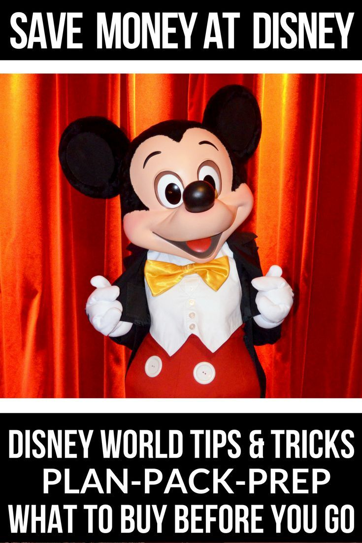 Disney World Tips & Tricks If you're looking for tips and tricks for a Disney World vacation on a budget you're in luck! I'm sharing the best secrets on how to save money at Disney World with kids! If you're planning a trip to Disney World, don't miss these tips on when to go, Disney dining plans, and what to pack to save money!