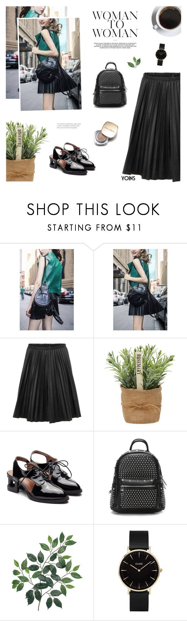 """Never Get So Busy Making A Living That You Forget To Make A Life - Yoins 14"" by paradiselemonade ❤ liked on Polyvore featuring CLUSE, Dolce&Gabbana, yoins, yoinscollection and loveyoins"