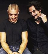 This is insanely adorable. Kim Coates and Theo Rossi. If this isn't a moment where Tig is being creepy and adorable at the same time.. Idk what is