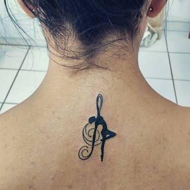 Ms de 25 ideas increbles sobre Tatuajes de ballet en Pinterest
