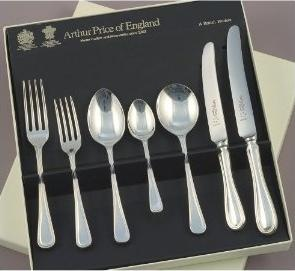 Silver cutlery sets for wedding presents