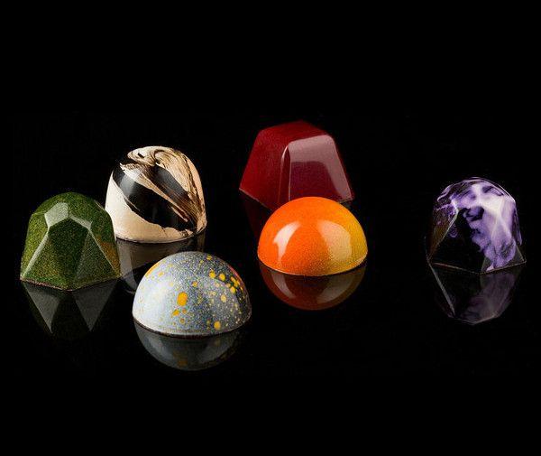 Kollar Chocolates truffles. Yountville, Napa Valley / food design - design culinaire