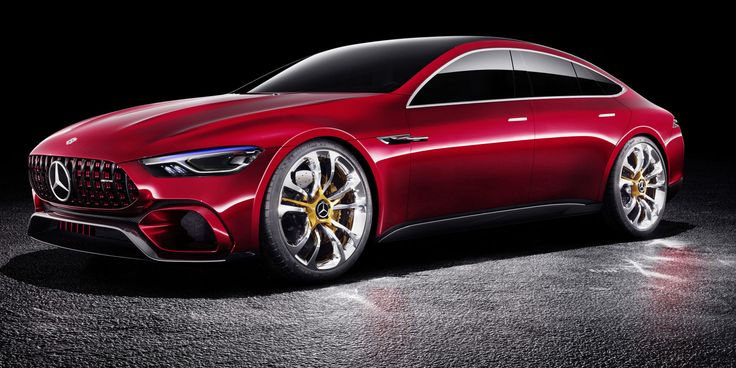 Mercedes-AMG GT Concept Brings Four Doors and 805 Hybrid Horsepower