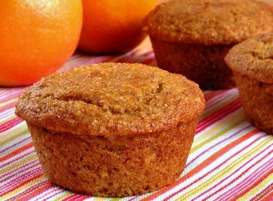 Orange Date Muffins Or Chocolate Chip) Recipe - Breakfast.Food.com: Food.com