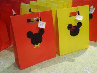 Lembrancinhas: Festa do Mickey