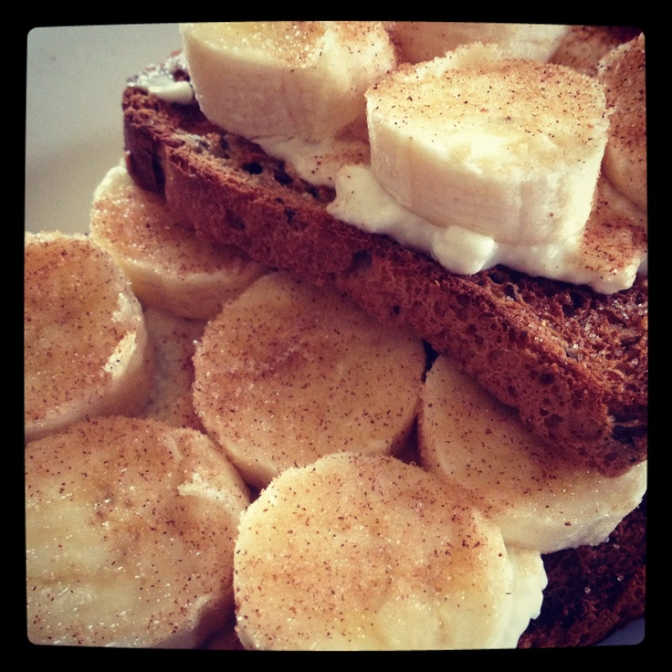 Banana Bruschetta - super yummy breakfast from Michelle Bridges #12wbt plan
