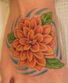 Dahlia Flower Tattoo Dahlia Flower Tattoo 1