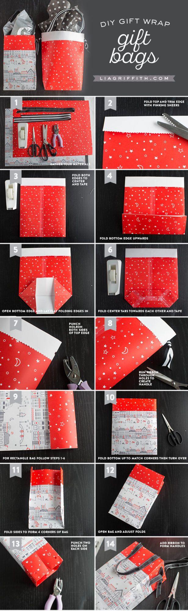 Scandinavian Gift Wrap: