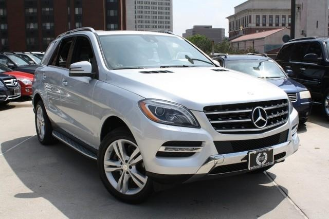 2013 mercedes benz ml 3504matic ml350 suv 4 doors gy for for White plain mercedes benz