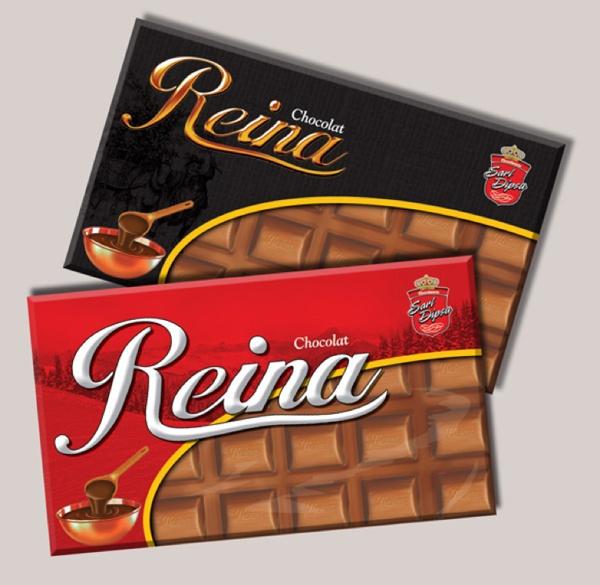 Çikolata Ambalaj Tasarımı ve İllüstrasyonu
