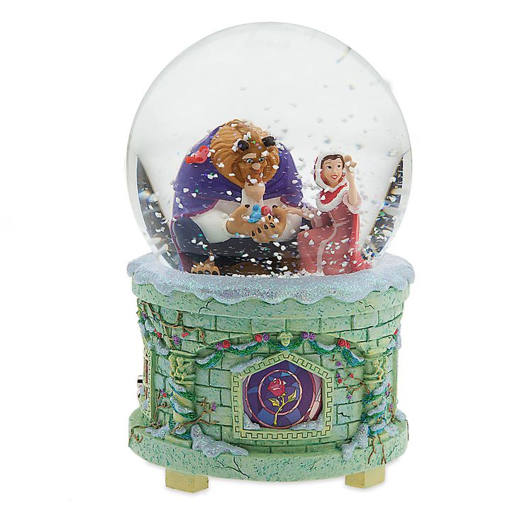 Beauty and the Beast snowglobe from Disney Store
