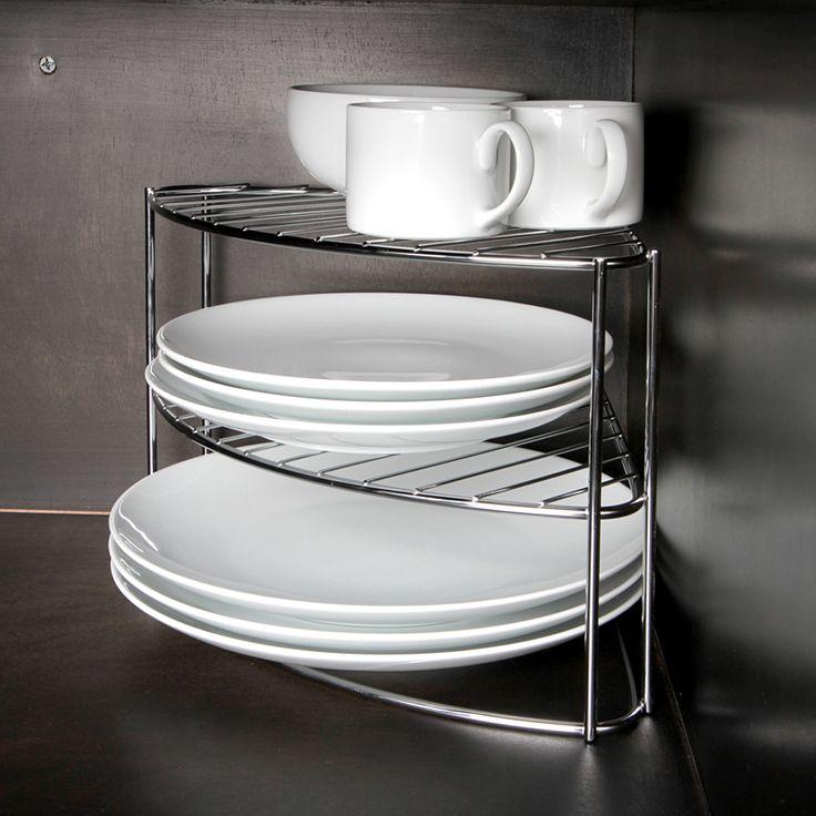 Tus platos de uso diario siempre a la mano con esta esquinera.