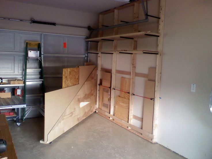 Lumber Rack - by mziem @ LumberJocks.com ~ woodworking community | Build it Yourself in 2019