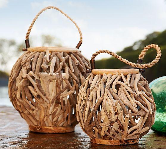 Driftwood Lantern | Pottery Barn