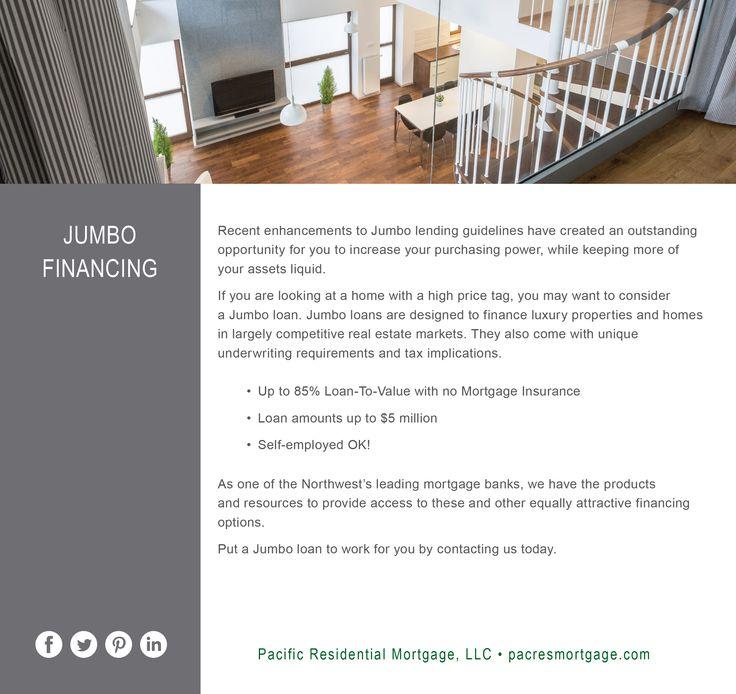 Jumbo Loan www.pacresmortgage.com 800-318-4571