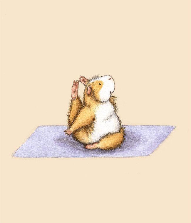 Картинки йога милые