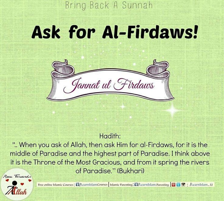 Thats the Ultimate Goal for all isnt it? So why not ask for it from the One who can give it!  #final #ultimate #goal #everlasting #Jannah #paradise #jannathulfirdaws #thrones #sunnah #revive #hadeeth #Hadith #learnislam