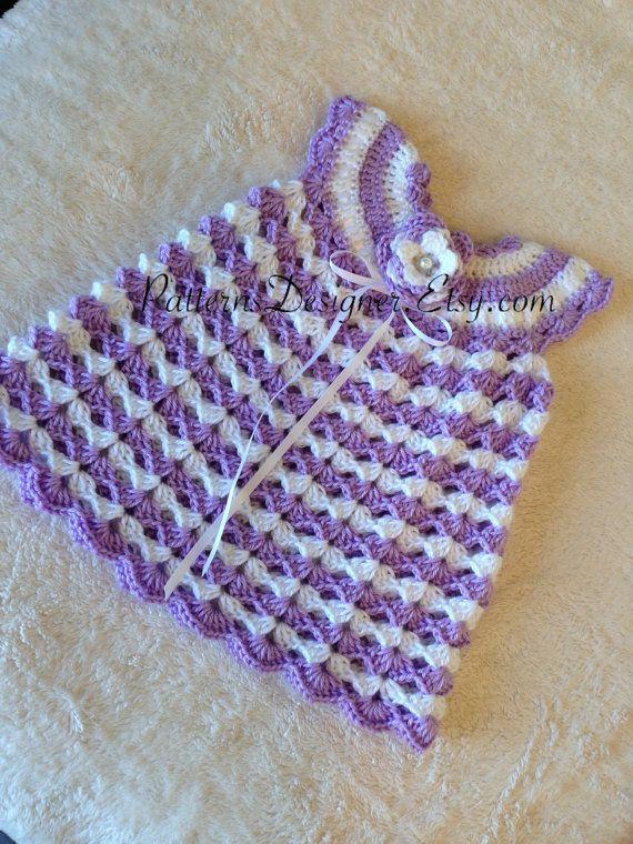PATTERN+PT072++Crochet+Baby+Dress+Baby+Dress+by+PatternsDesigner,+$5.50