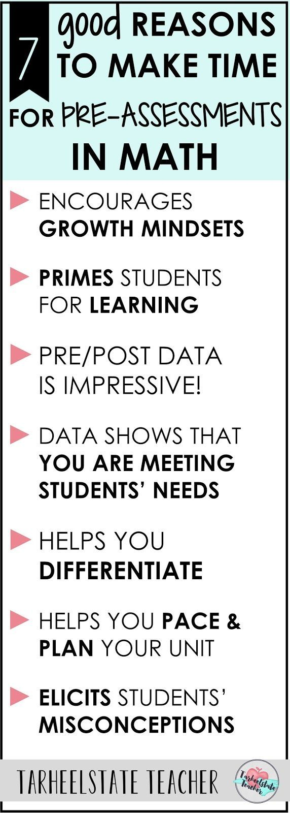 1084 best math images on pinterest classroom ideas teaching math why should you make time for pre assessing students in math what are the fandeluxe Choice Image