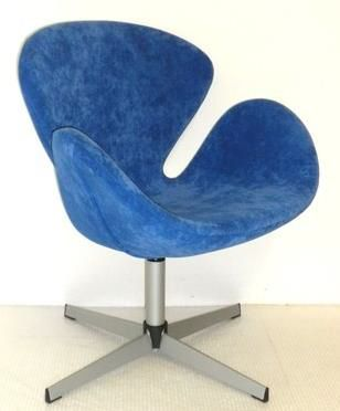 flower chair blue
