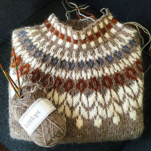 Icelandic Sweaters (my favies to make)