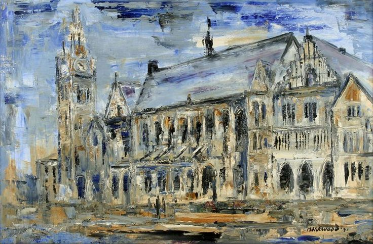 Rochdale Town Hall,  James Lawrence Isherwood
