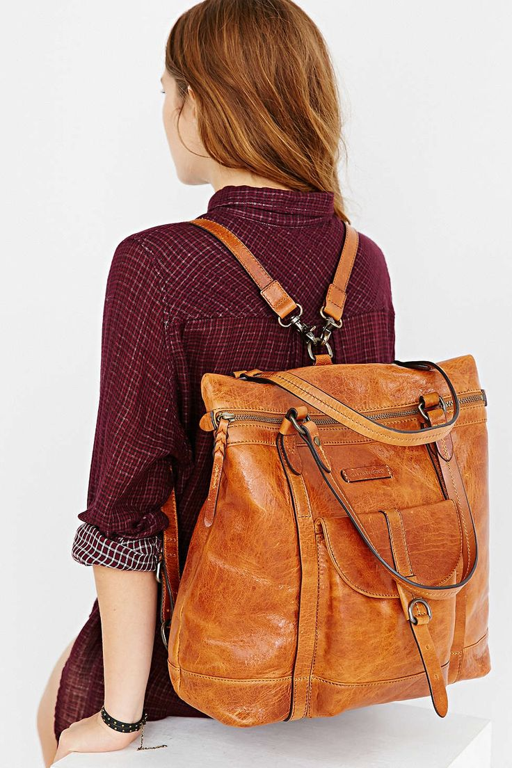 Frye Josie Backpack Tote Bag