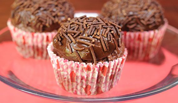 Cupcakes Brigadeiros
