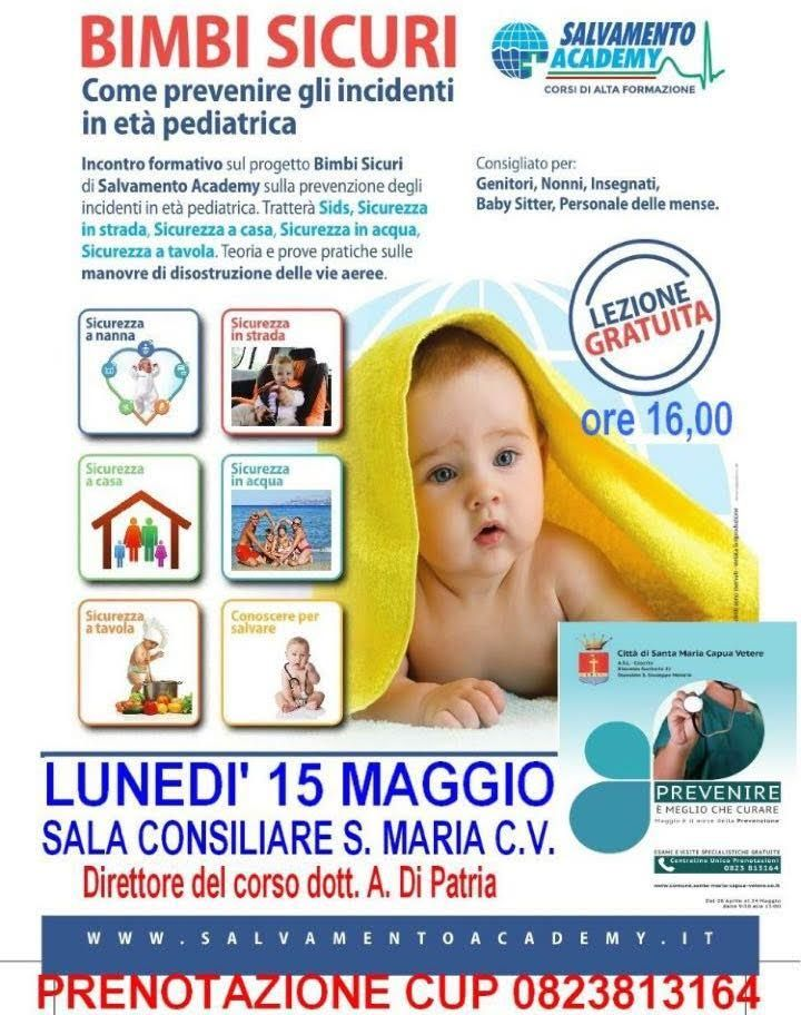 Santa Maria Capua Vetere: 'Bimbi sicuri', c'è il seminario di prevenzione a cura di Enzo Santoro - http://www.vivicasagiove.it/notizie/santa-maria-capua-vetere-bimbi-sicuri-ce-seminario-prevenzione/