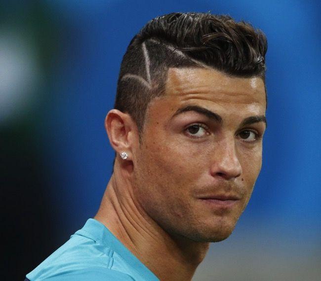 Lastest Cristiano Ronaldo Hairstyles 2017