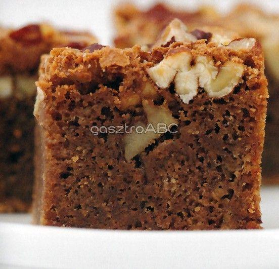 Pekános, kávés brownie | Receptek