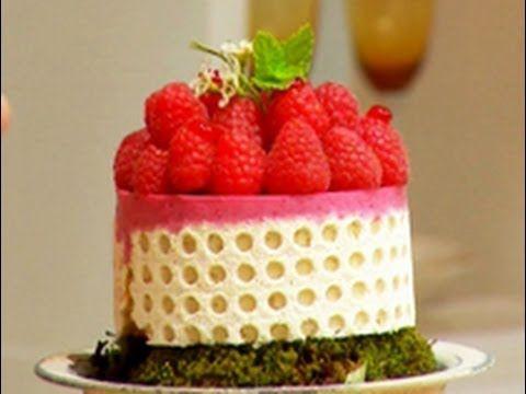 Dulces celebraciones - Mousse de frambuesa (+lista de reproducción)