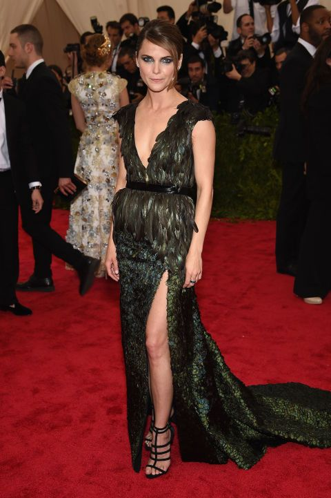 Keri Russell in Altuzarra. See all the looks from the 2015 Met gala.