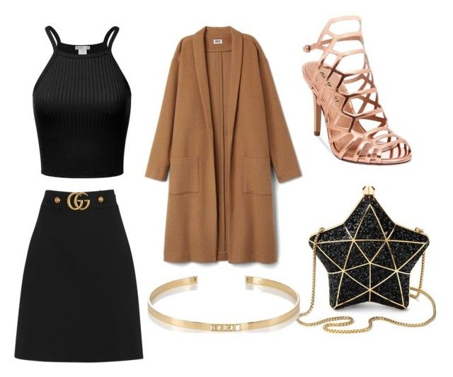 """""""Untitled #6"""" by simranbasi12 on Polyvore featuring Gucci, Madden Girl, Aspinal of London and Ileana Makri"""