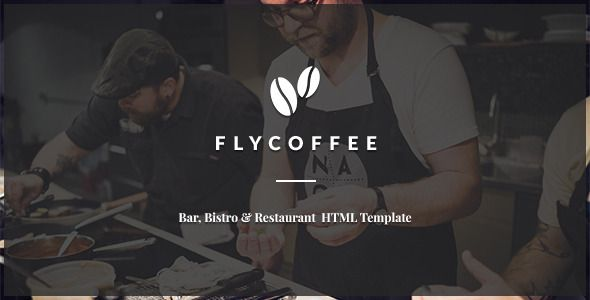FlyCoffee is a Bar and Restaurant HTML Template, responsive, Bootstrap based.It can be used for...