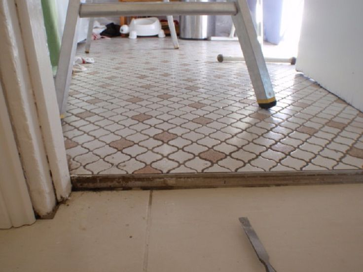 Heating Asbestos Floor Tile ~ http://lanewstalk.com/the-heated-tile-floor-project-preparation/