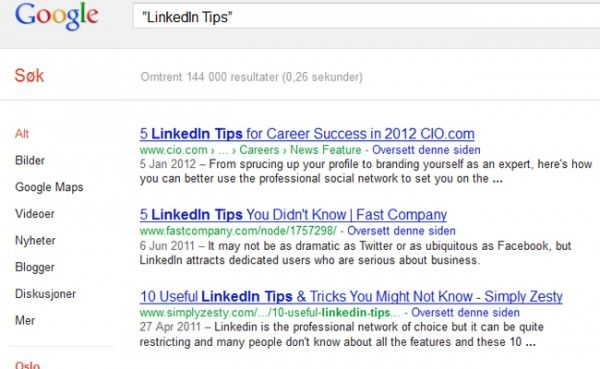 LinkedIn tips nr 4
