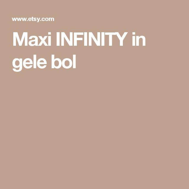 Maxi INFINITY in gele bol