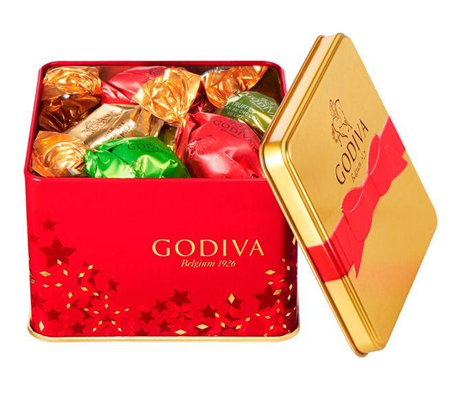 ゴディバのクリスマス限定「ノエル ルミヌ コレクション」キラキラ輝く華やかなショコラ&マカロンの写真15